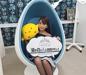 元OS☆U、現在グラビアアイドルの森咲智美さんご来店